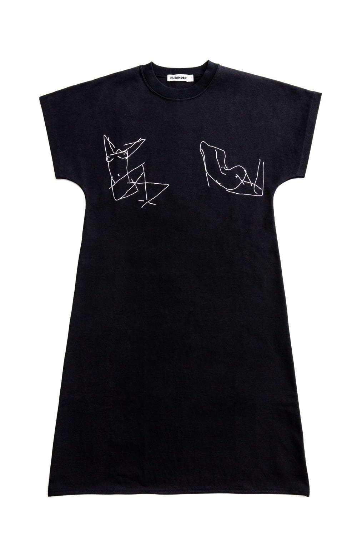ジャージードレス(ブラック×ホワイト) 148,000円+税<日本限定色・伊勢丹新宿店先行発売>