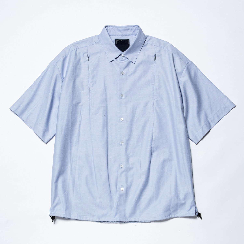 〈ミーンズワイル〉メッシュを配した快適シャツ