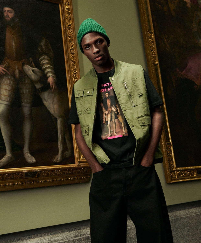 ZARA MAN×プラド美術館コラボ、モナ・リザなど名作絵画をメンズT