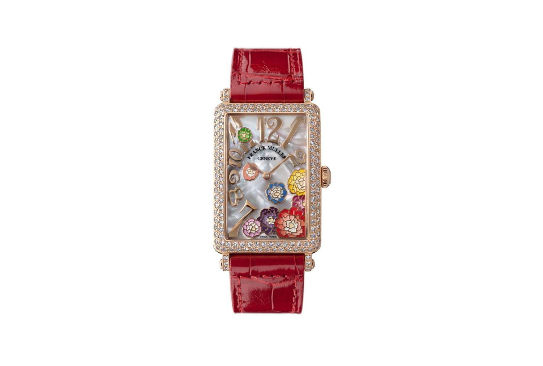 """buy online fa66d 0c2e2 フランク ミュラー""""牡丹の花×マザー オブ パール""""の新作腕時計 ..."""
