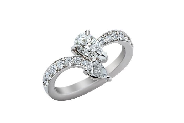 チューリップ ダイヤモンド 約0.4ct 885,000円+税