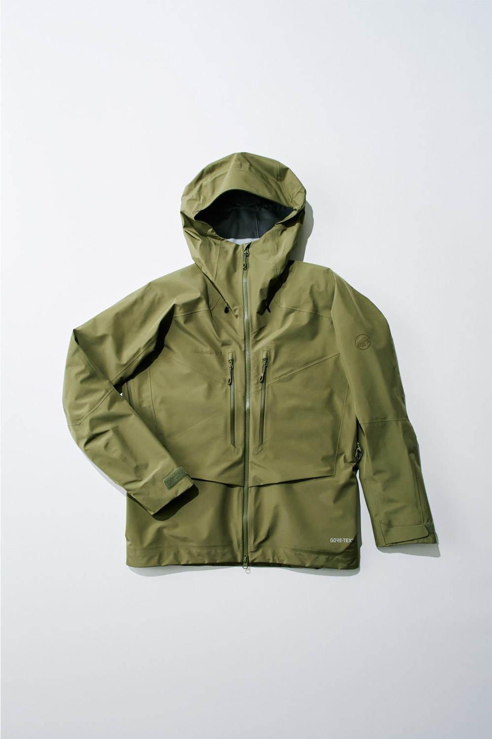 テトン エイチエス フーデッド ジャケット(オリーブ) 58,000円+税