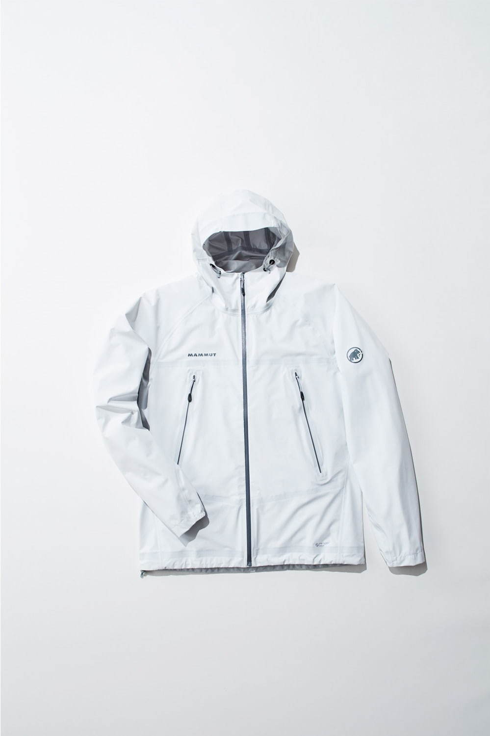 マサオ ライト エイチエス フーデッド ジャケット(ホワイト) 28,000円+税