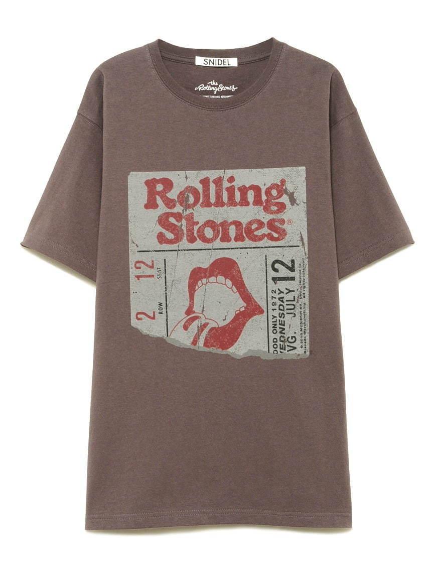 """スナイデル「ザ・ローリング・ストーンズ」の""""リップス&タン""""を配したロックTシャツ - 写真4"""