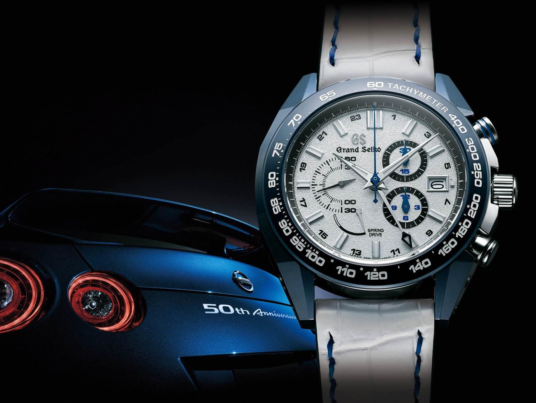 timeless design 9851e c24ad グランドセイコー、日産スポーツカー「GT-R」着想の新作ウォッチ ...