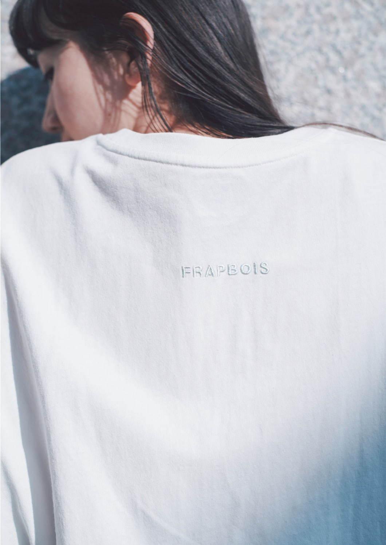 フラボアとLeeがコラボ、ロゴ刺繍カットソー&テーパードデニムパンツをユニセックスで - 写真2