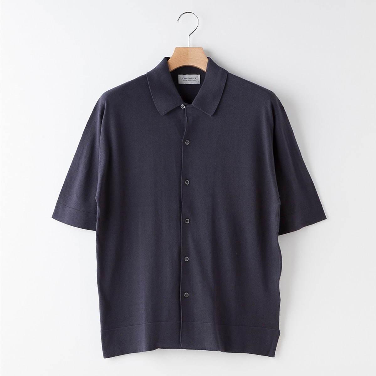 半袖ニットシャツ<メンズ> 36,000円+税