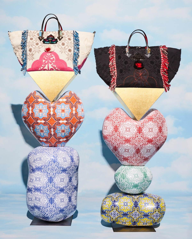 d7f03b436250 ... クリスチャン ルブタンの新作バッグ「ポルトガバ」ポルトガルの伝統衣装がベース&鮮やか ...