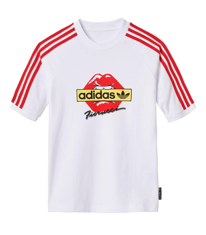 アディダス 赤 tシャツ