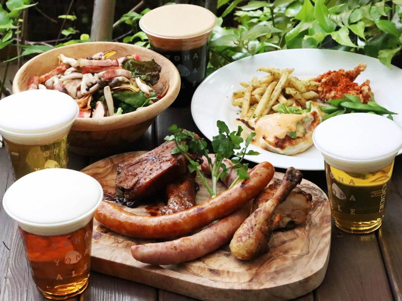 赤坂アークヒルズ「よなよなビアガーデン」限定ビール含むクラフトビール6種をドラフトで