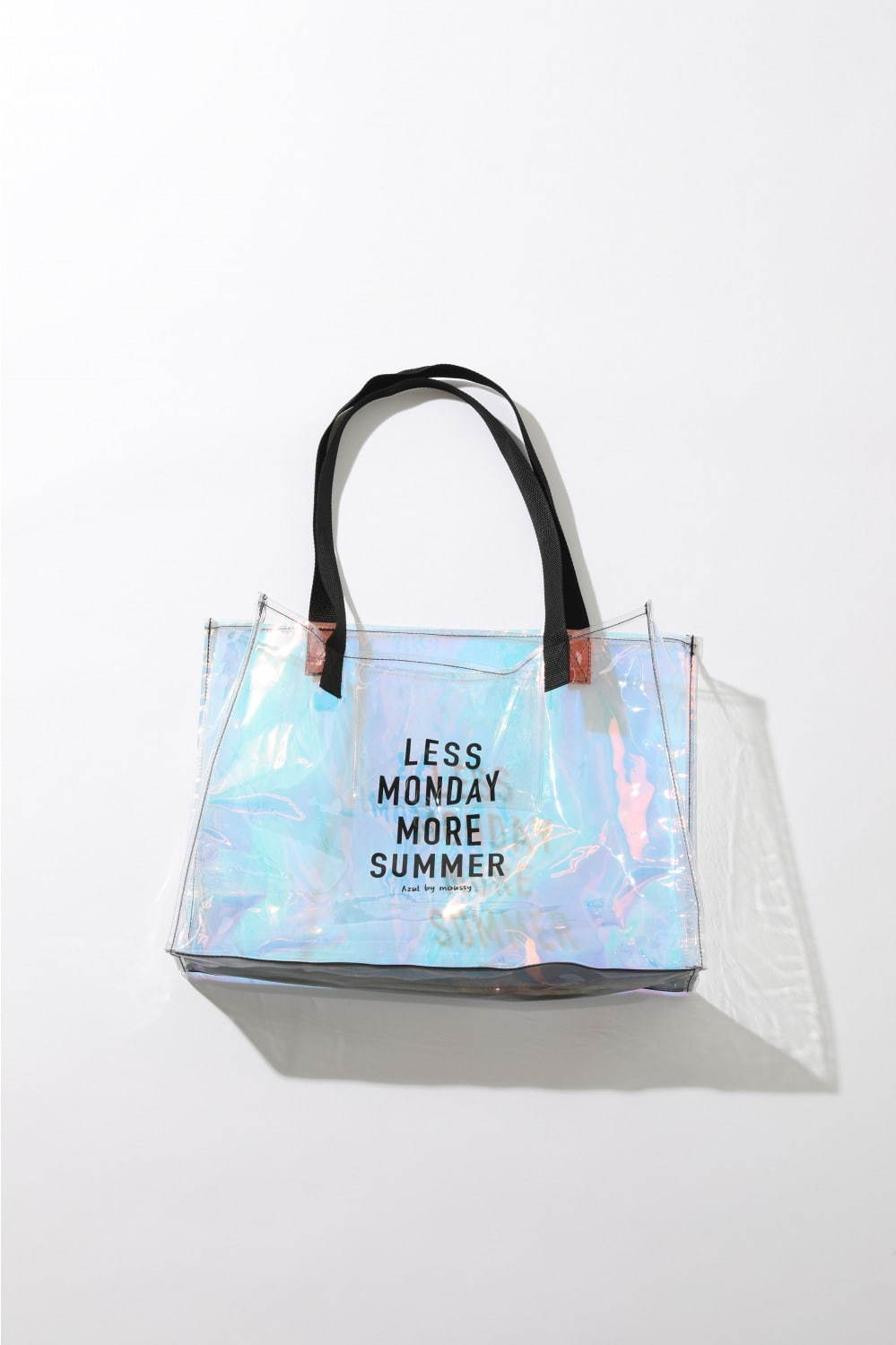 LOGO AURORA CLEAR TOTE BAG 1,990円+税