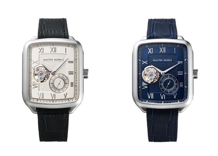online store 3fe08 e1108 日本発腕時計ブランド「マスターワークス」創立1周年記念モデル ...