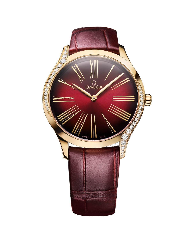 "sale retailer c02d8 6db56 オメガのレディース腕時計「トレゾア」新作、""月の輝き""に着想 ..."