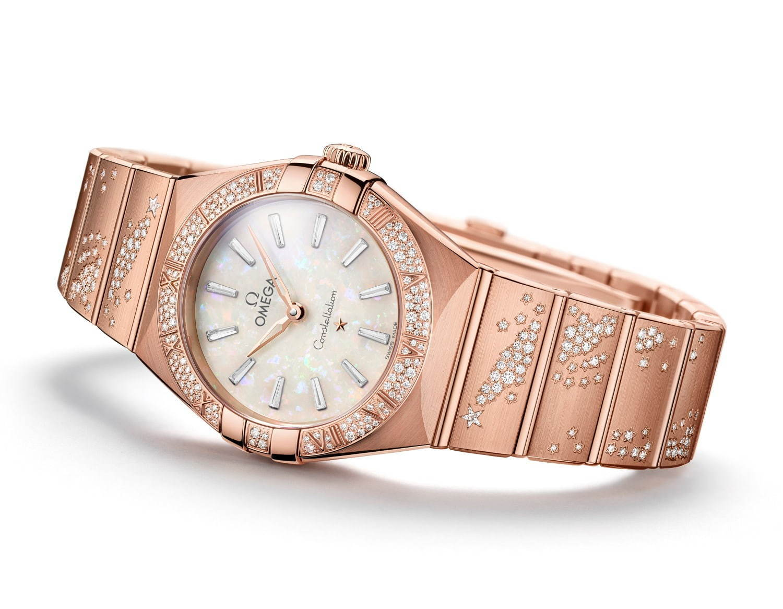 "promo code 9aa3e 48dcb オメガ新作レディース腕時計、ダイヤモンドが輝く""流れ星 ..."