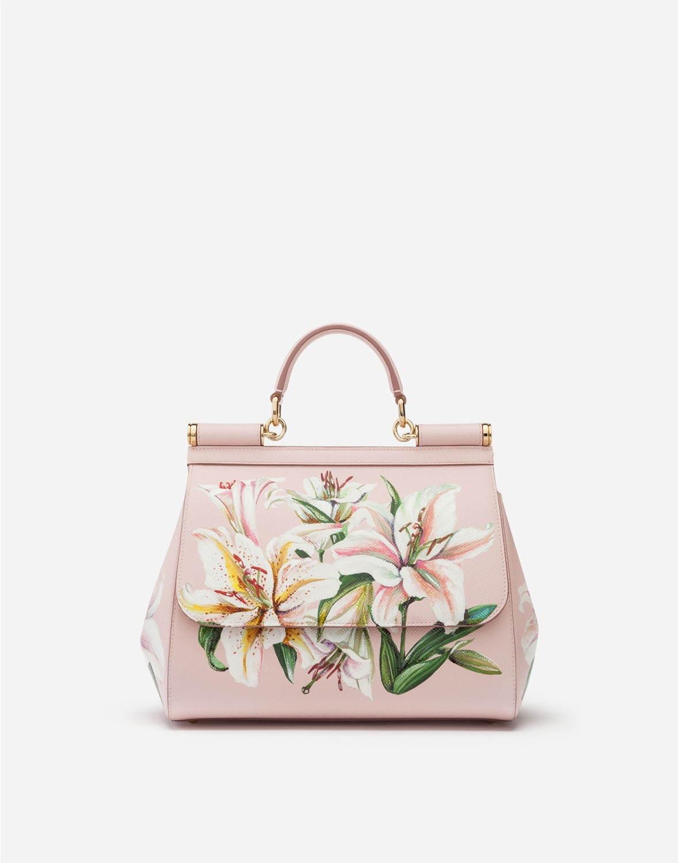 <ドルチェ&ガッバーナ>花柄をあしらったハンドバッグ「シシリー」