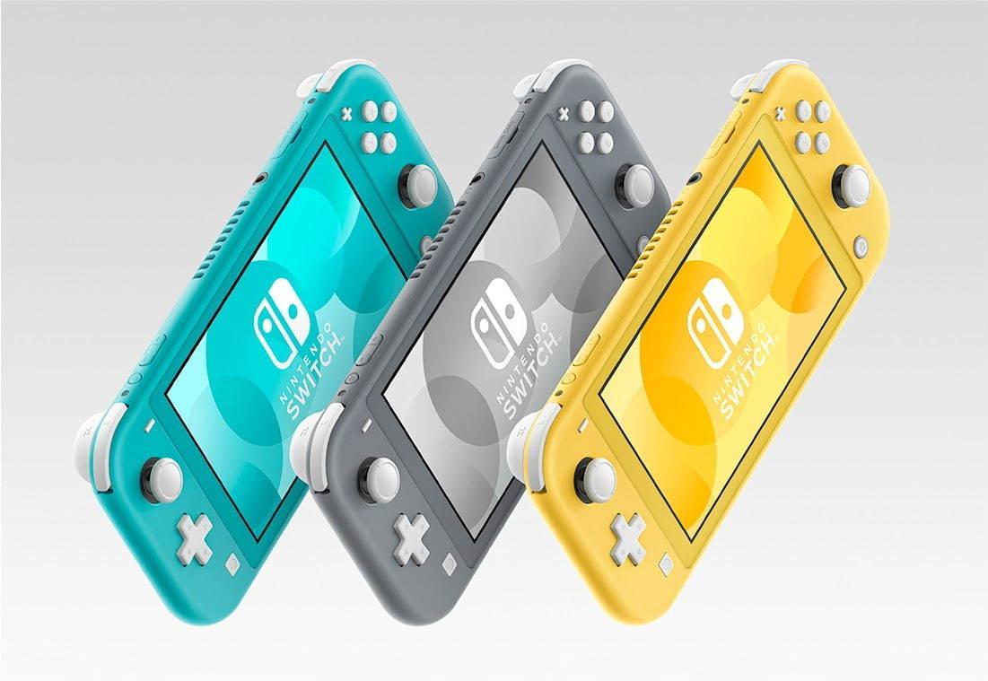 任天堂から携帯特化の「ニンテンドースイッチ ライト(Nintendo Switch Lite)」 - ファッションプレス