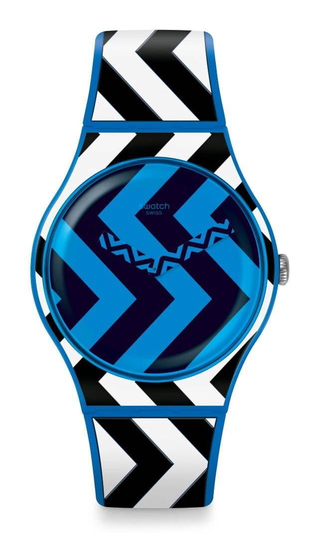 """<スウォッチ>""""バウハウス""""をイメージしたアーティスティックな腕時計"""