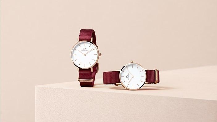 ダニエル・ウェリントン新作腕時計 , 爽やかな白ストラップ