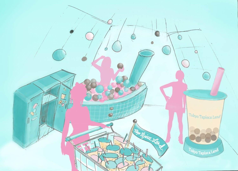 タピオカテーマパーク「東京タピオカランド」原宿に限定オープン、人気店が集結&多彩なフォトスポット - 写真4