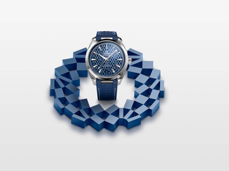 new products f8a43 afe92 オメガから東京 2020 オリンピック限定腕時計、ブルー&ホワイト ...