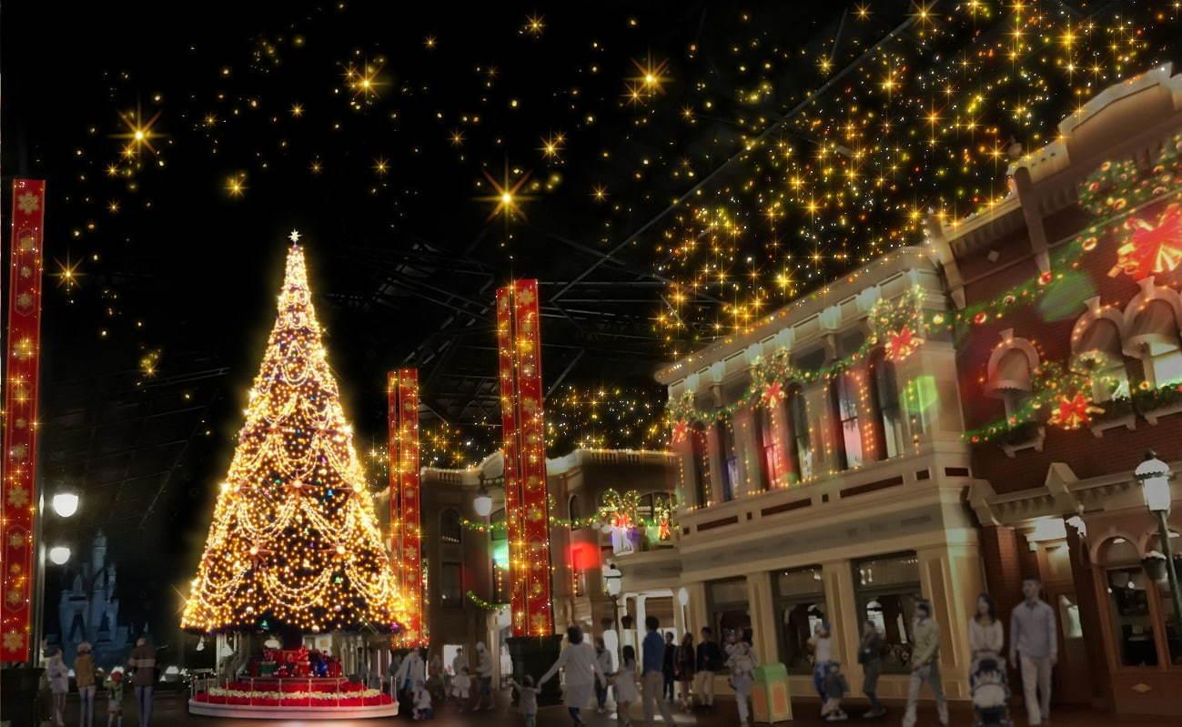 東京ディズニーランド シーのクリスマス ショーやパレード グッズ