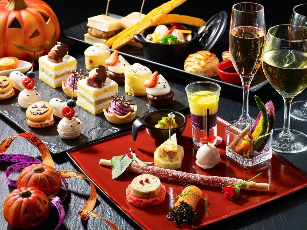 <東京プリンスホテル> おばけスイーツや秋の味覚を絶景テラスで楽しむハイティー