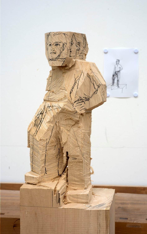 写真11/23 ドイツの彫刻家「シュテファン・バルケンホール展」六本木 ...