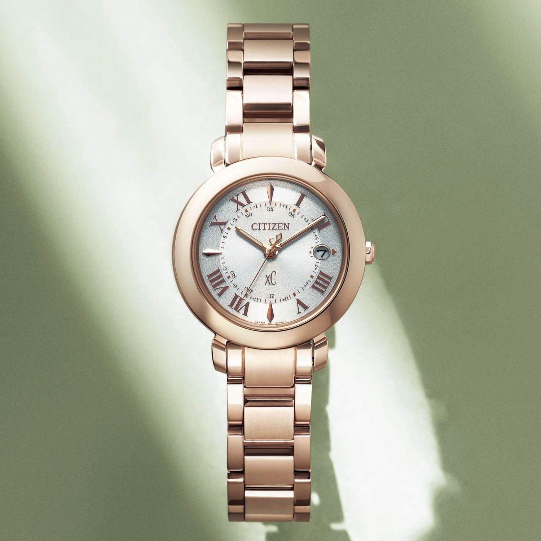 new style 9be34 53752 シチズン クロスシーのレディース腕時計「ヒカリ(hikari)」光 ...