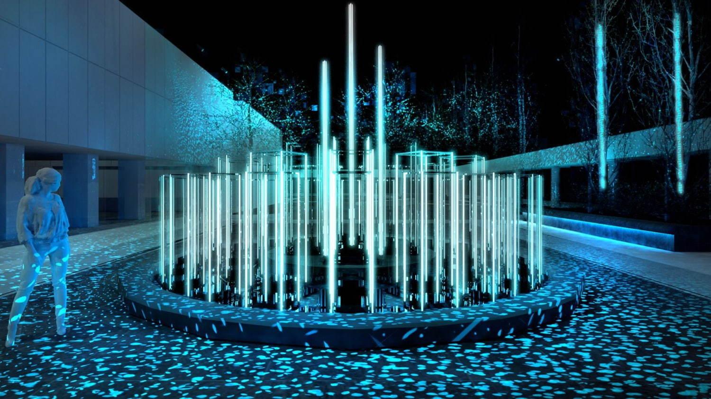 """ギンザ シックス初のイルミネーション、無数の星が降り注ぐ""""小宇宙空間""""を屋上庭園で演出 - 写真1"""