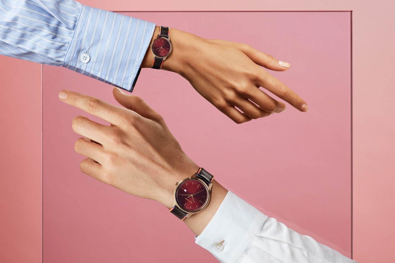 ポール・スミス、鮮やかなストライプ柄入り「ザ・シティ」の腕時計