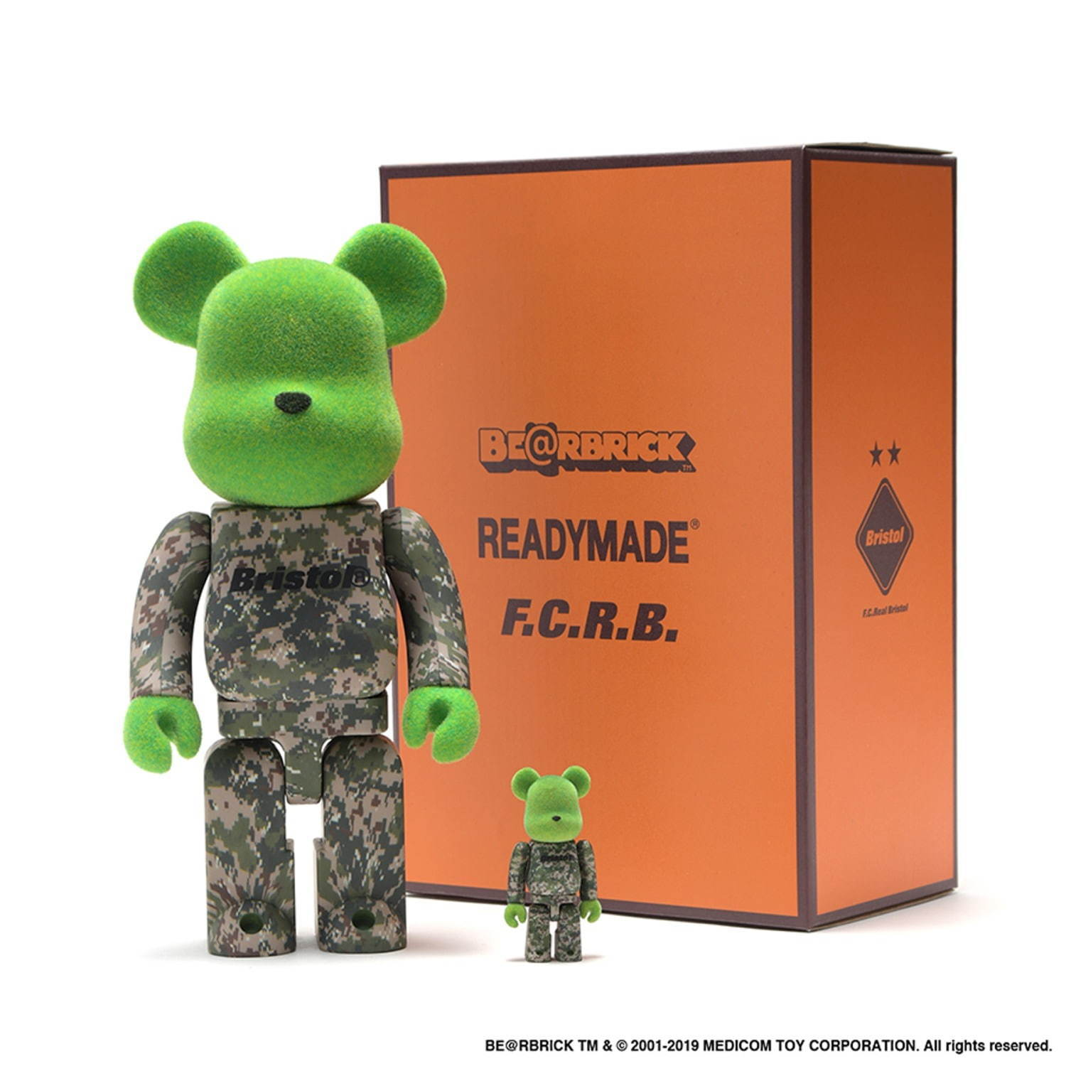 BE@RBRICK 100% & 400% 18,000円+税