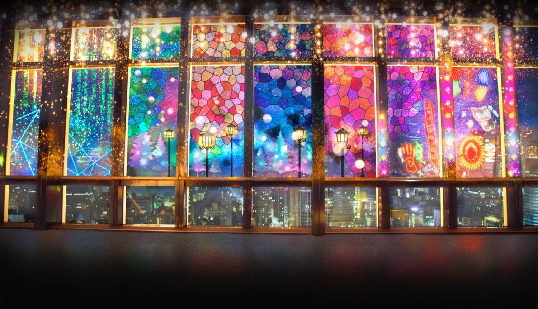 東京タワーのデジタル夜景体験「シティライトファンタジア」ネオンやレーザー光る幻想空間 - 写真1