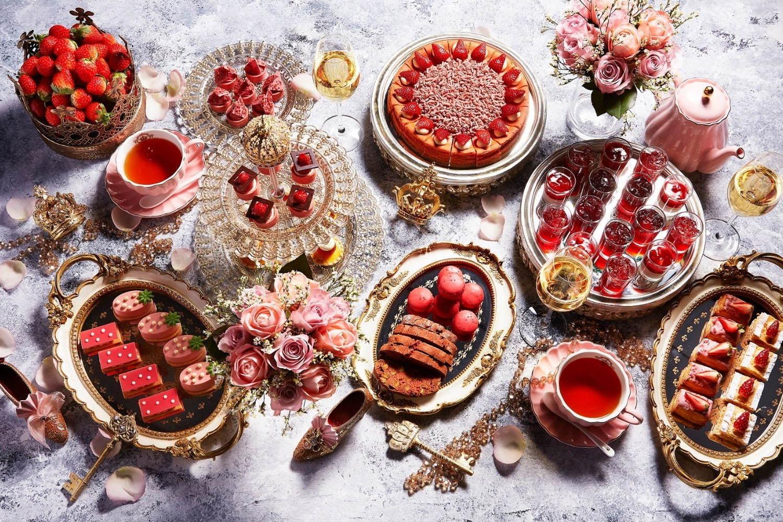 <ANAインターコンチネンタルホテル東京>苺のチーズケーキやマカロンほか旬な苺の食べ比べなど