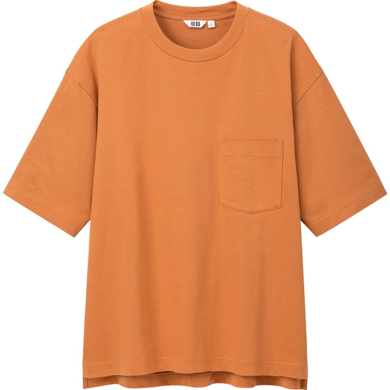 ユニクロ ユーオーバーサイズクルーネックT(半袖) 1,500円+税