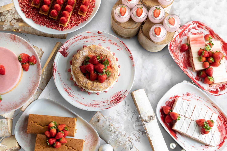 グランド ハイアット 東京のストロベリーブッフェ&スイーツ、苺ソースがとろりと溢れるカルツォーネも - 写真2