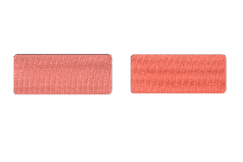 左から)グローオン F(チークカラー・フェイスカラー) P ロージィ コーラル、P ブライト コーラル 各2,500円+税(レフィル)<限定色>
