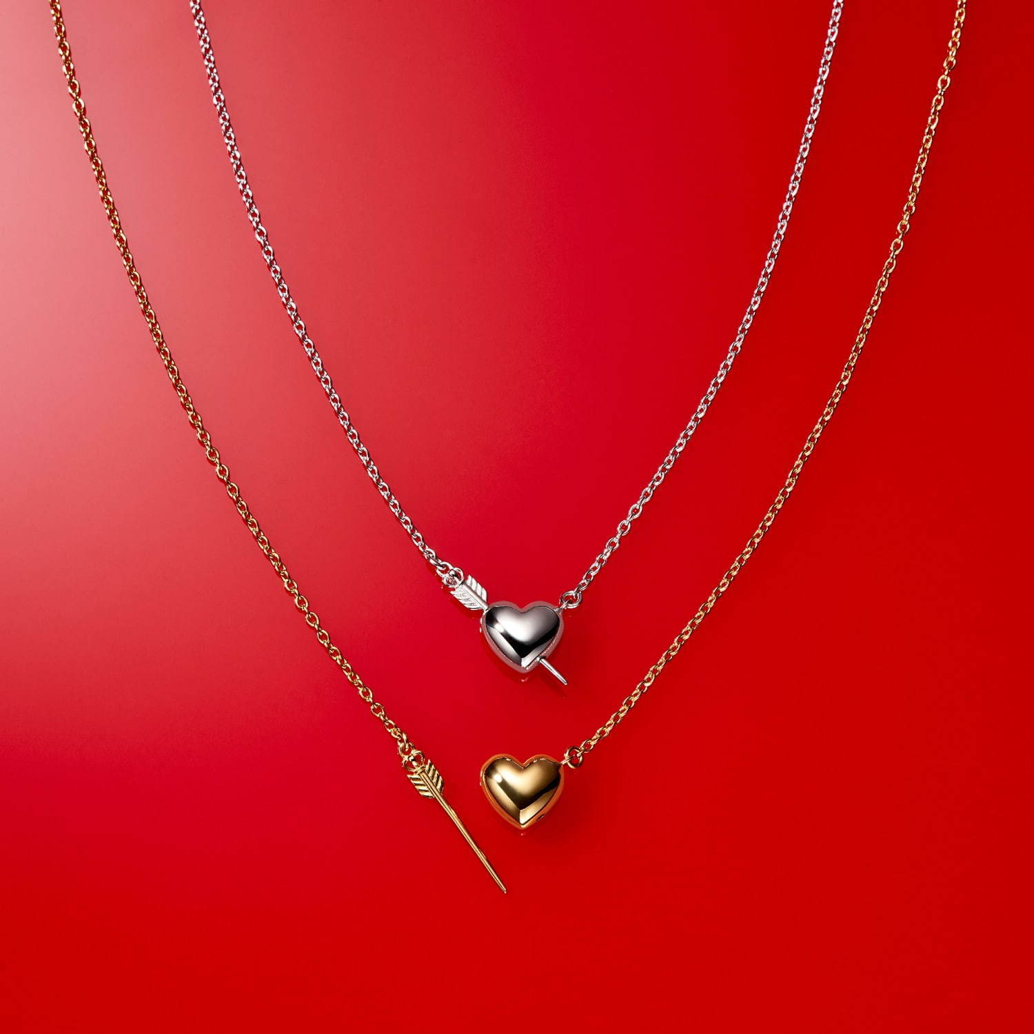 """CUPIDO""Necklace 各24,000円+税"