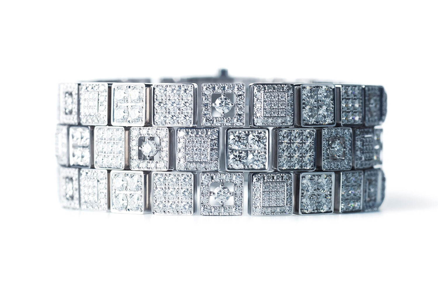 「京小路」Bracelet 750WG, Diamond 22,517,000円+税