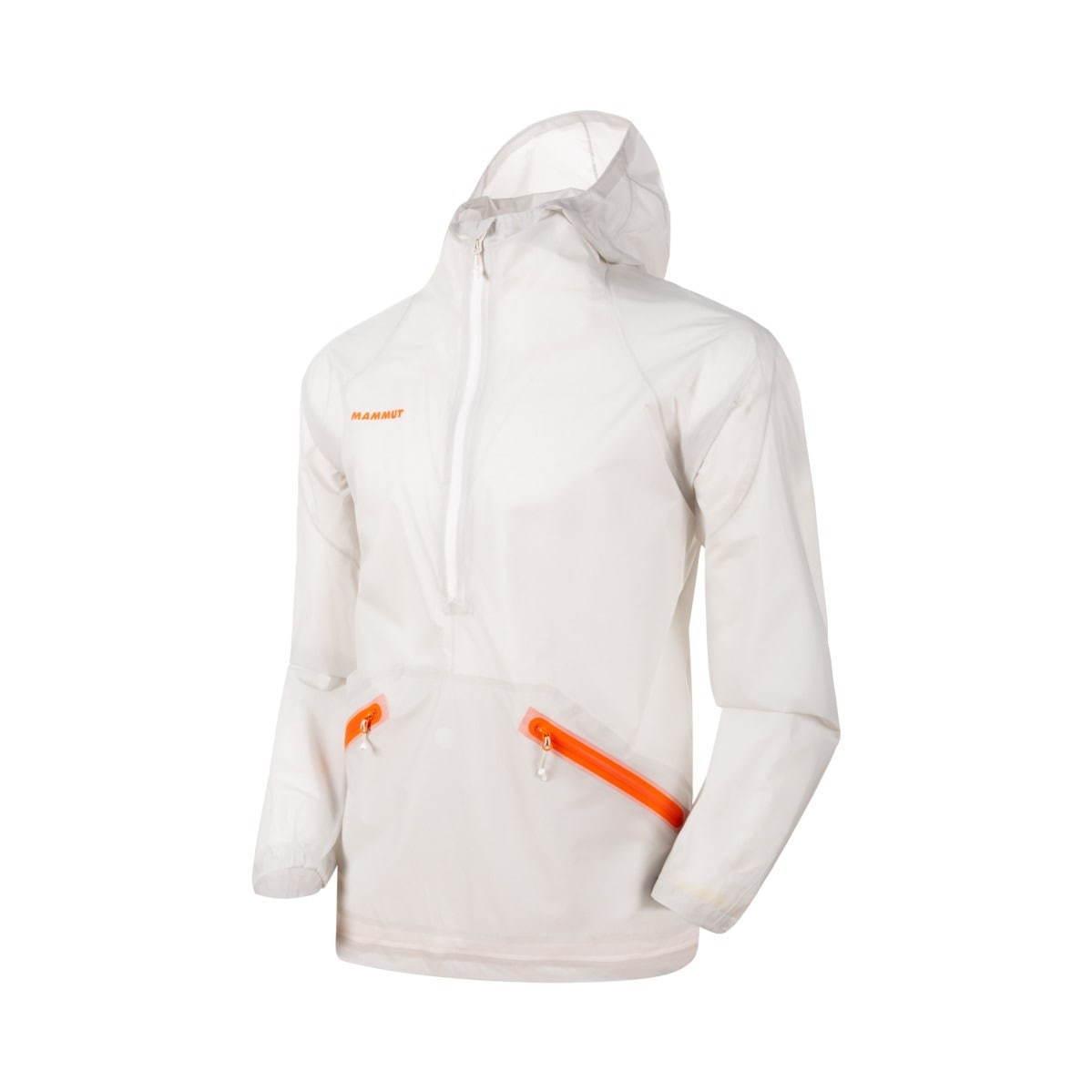 〈マムート〉超軽量の防水アノラックジャケット