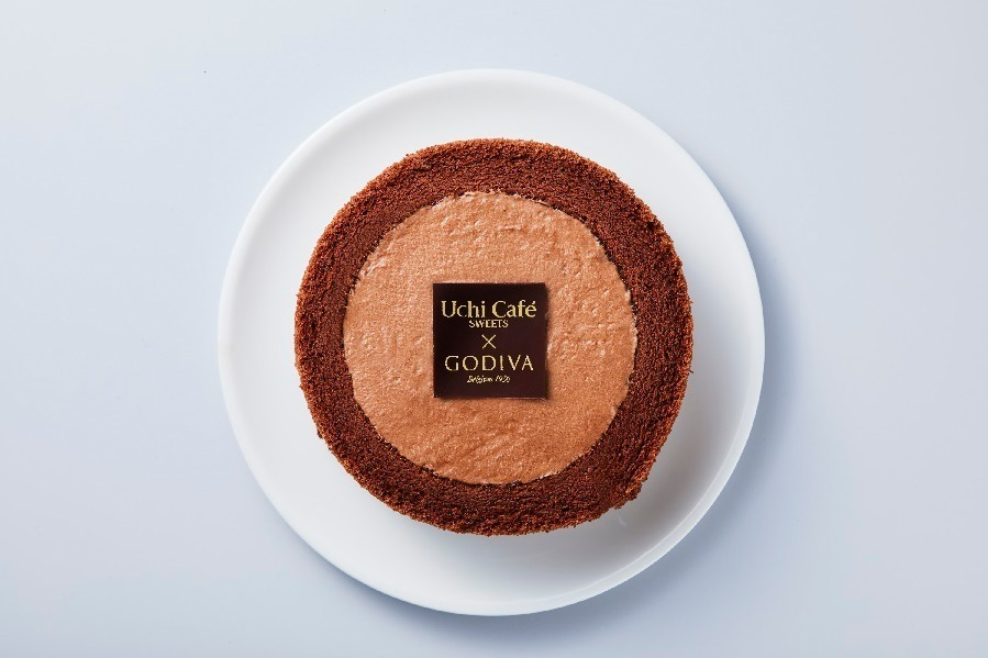 ローソン×ゴディバ - コラボショコラロールケーキ