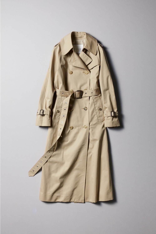 トレンチ コート ベルト メンズ