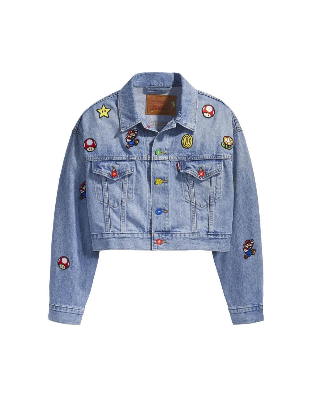 リーバイス×スーパーマリオ - マリオ&ルイージ、コインを散りばめたデニムジャケットやTシャツ - 写真10