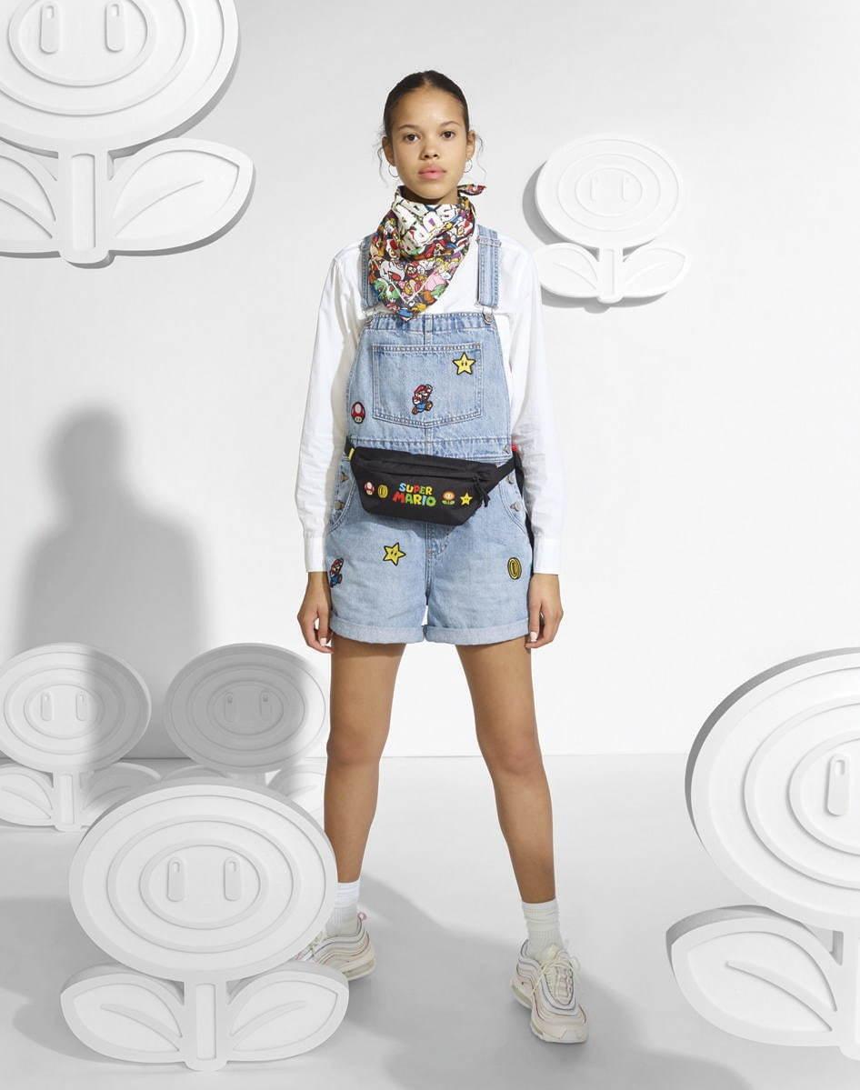 リーバイス×スーパーマリオ - マリオ&ルイージ、コインを散りばめたデニムジャケットやTシャツ - 写真24