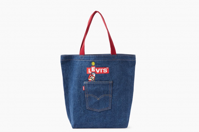 リーバイス×スーパーマリオ - マリオ&ルイージ、コインを散りばめたデニムジャケットやTシャツ - 写真12