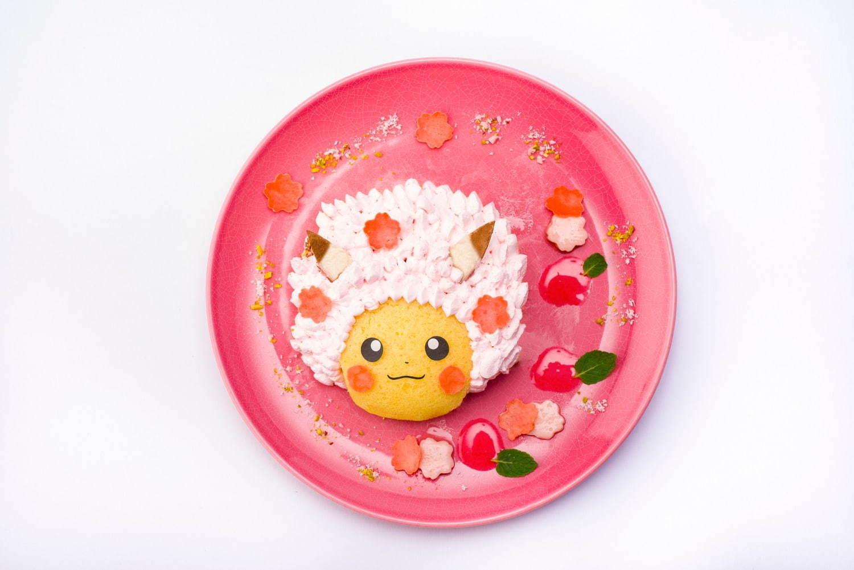 桜アフロのピカチュウのフルーツサンドケーキ 1,738円(税込)