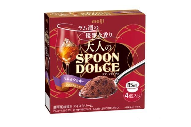 「明治 大人のSPOON DOLCE ラム&クッキー 〜ショコラ仕立て〜」