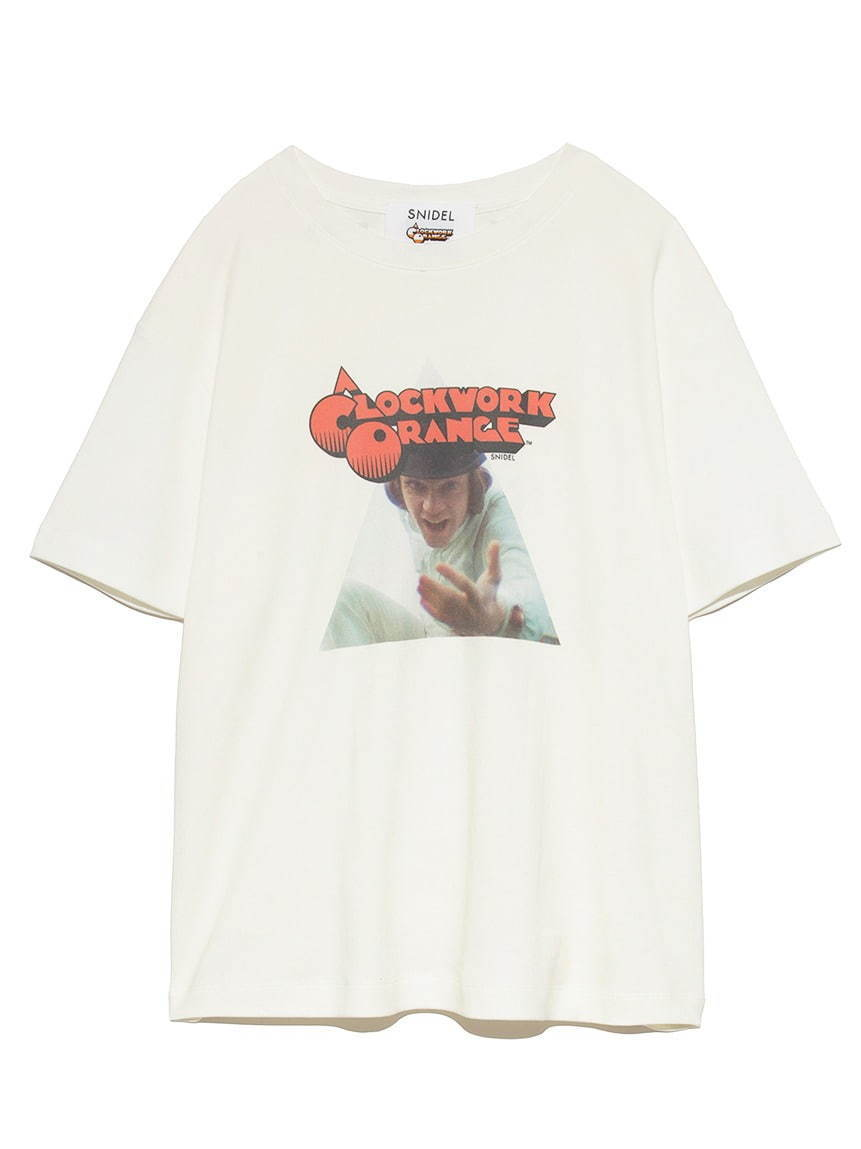 SNIDEL feat. A CLOCKWORK ORANGE Tシャツ 6,000円+税