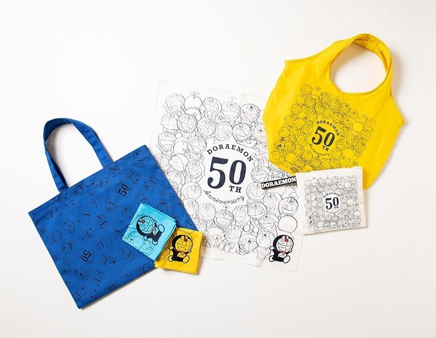 「ドラえもん」50周年記念グッズ、ハンカチやトートバッグなど - ニコライ・バーグマンとのコラボも - 写真2