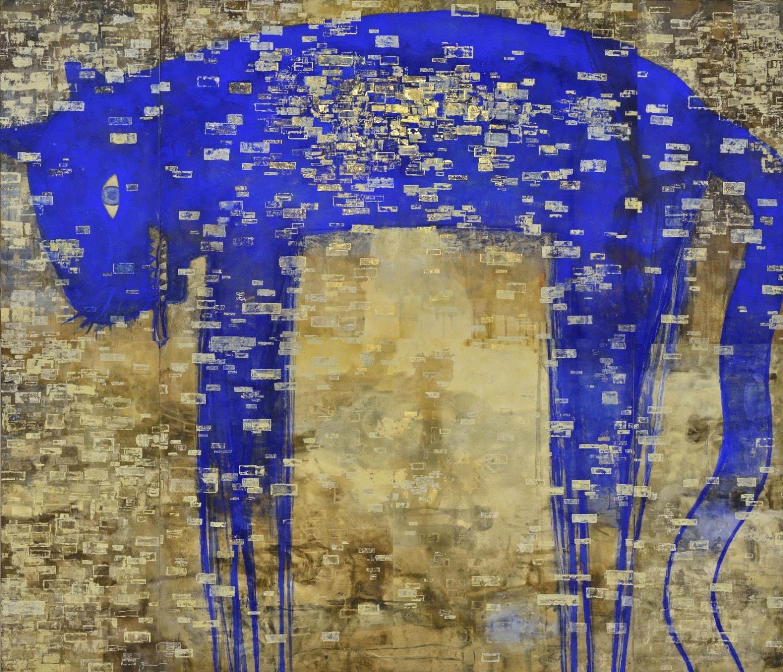 """画家・長沢明の初大規模個展が新潟市美術館で、3mを超える""""トラ""""や ..."""