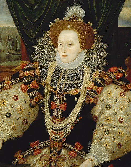 Queen Elizabeth I by Unknown English artist(ca.1588) 